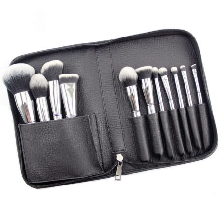 Crush Cosmetics 11 Piece Platinum Brush Set