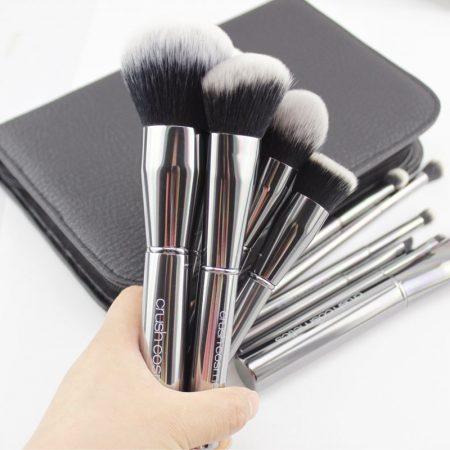 Crush Cosmetics 11 Piece Platinum Brush Set
