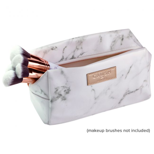 Crush Cosmetics Marble Beauty Bag