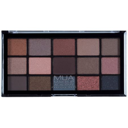 MUA Professional 15 Shade Eyeshadow Palette - Spiced Charm