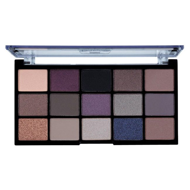 MUA Professional 15 Shade Eyeshadow Palette - Twilight Delight