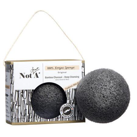 Not.Just.A Konjac Sponge - Bamboo Charcoal