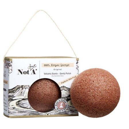 Not.Just.A Konjac Sponge - Volcanic Power Puff