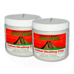 aztec modern indian healing clay 2 pack